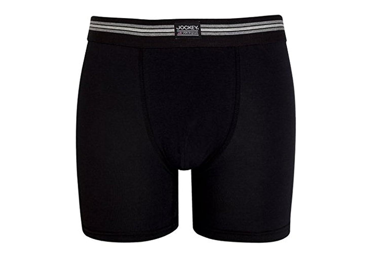 Jockey Premium Cotton Boxer Pants 4er Pack - Unterhose in S bis 2XL - Spürbar angenehme Premiumqualität in merzerisierter Baumwolle