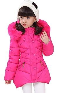 d7f40aae936 Amazon.com: Sportoli Girls' Heavy Quilt Lined Fashion Winter Jacket ...