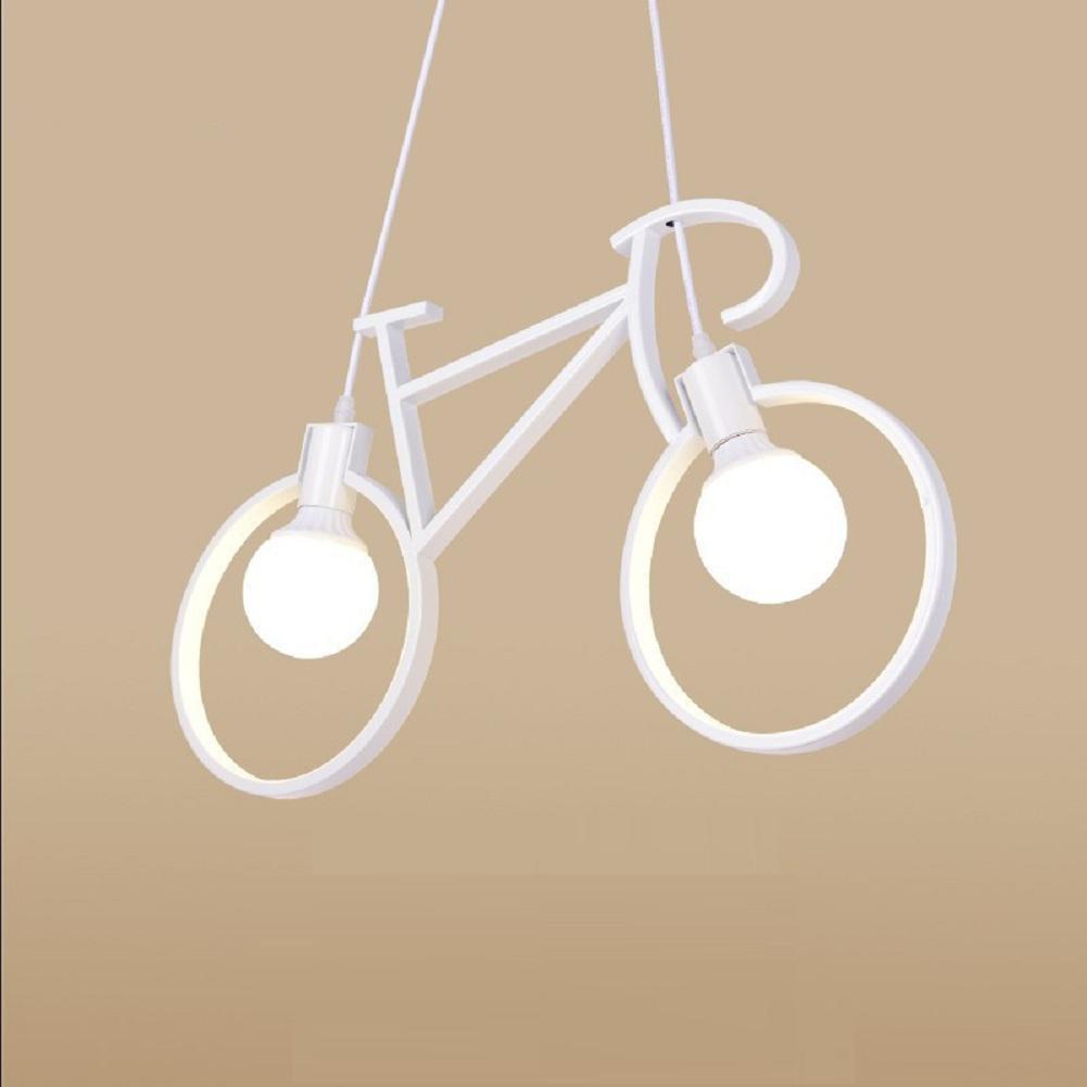 WGE Clothing Shop Bar Chandelier, Cafe Iron Bicycle Chandelier, Kids Room Bicycle Bicycle Chandelier , Large 71Cm WGE SHOP