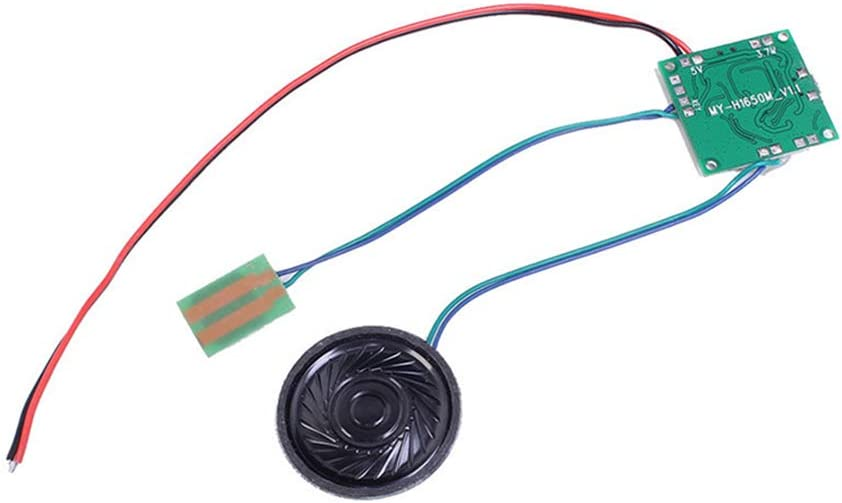 8M Recordable Voice Module with Sound Volume Adjustment Lithium Battery Charging