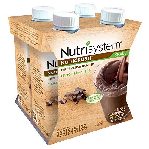 Nutrisystem  Nutricrush  Chocolate Shakes  Ready To Drink  Rtd   12 Ct
