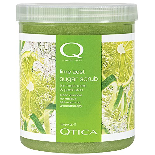 Qtica Smart Spa Lime Zest Sugar Scrub Body Scrubs
