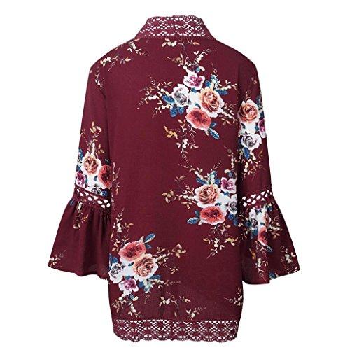 Femmes Manche Outlet SHOBDW Loose Blazer Pull Asym Chic Lache Coat Revers Manteaux Veste Automne Longue Veste Trench Casual Cardigan Hiver 1wwC0q