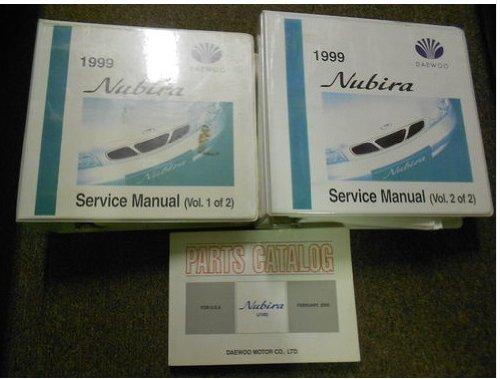 1999 DAEWOO NUBIRA Service Repair Shop Manual 3V FACTORY OEM BOOK 99 BINDER EDI