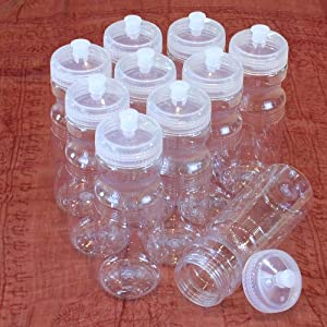 Rolling Sands 24oz Drink Bottles Clear (10 Pack)