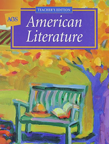 AMERICAN LITERATURE STUDENT TEXT (AGS literature series)
