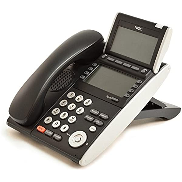 DT300 BK Lot of FOUR NEC DTL-24D-1 XD Z-Y BK TEL DLV Black Telephone 4