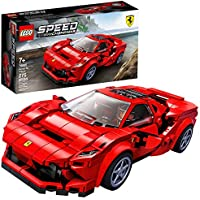 275-Pieces LEGO Speed Champions Ferrari F8 Tributo Cars Building Kit