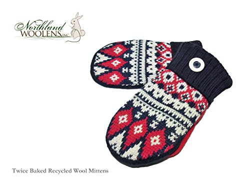【Northland Woolens】Recycled Mittens