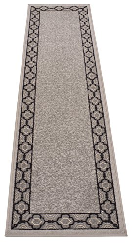 Authentic Damask Trellis Design Runner Rug For Kithcen