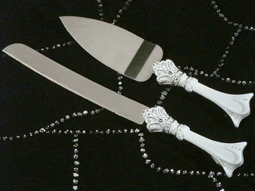CC454 Queen For A Day Cake And Knife Server Wedding Favors & Accessories ()