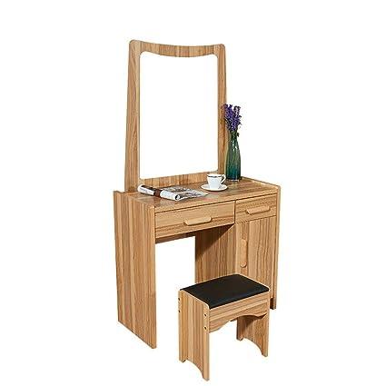 . Amazon com  Ybriefbag Home Vanities Vanity Table Set with Mirror and