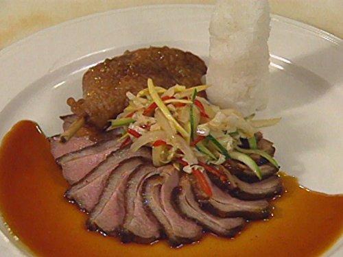 Coconut Fruit Salad - Chefs: Peter Merriman, Thomas B.H.Wong, and Gerard Reversade