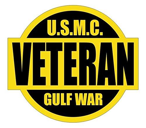 1 Set Profound Unique U.S.M.C. Gulf War Veteran Window Sticker Laptop Luggage Graphics Chemical Resistant Persian Hard Hat Badge Decor Vinyl Art Stickers Size 2