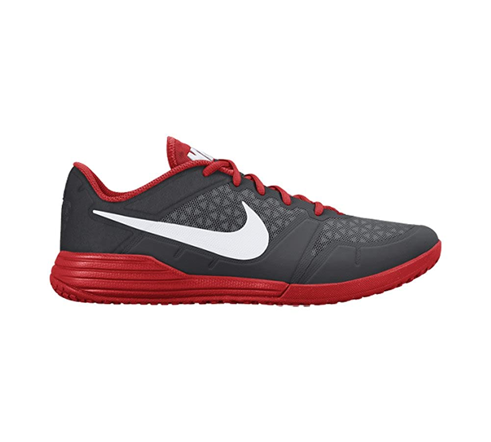huge selection of 8e741 b3b37 Amazon.com   Nike Men s Lunar Ultimate TR Training Shoe (Cool Grey,  Challenge Red) (10)   Shoes