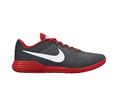 separation shoes 9028c 55732 Nike Men s Lunar Ultimate TR Training Shoe (Cool Grey, Challenge Red) (10