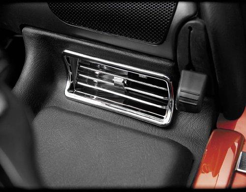 Show Chrome Upper Air Vents for Honda GL1800 Goldwing 01-05