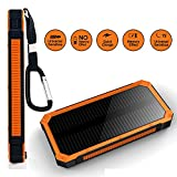Solar Charger Sankin 20000mAh Portable Power Bank - Best Reviews Guide