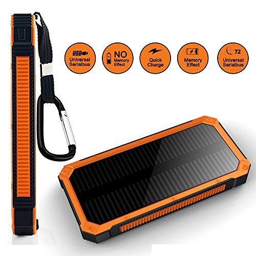 Solar Usb Charger With Battery Backup - 8