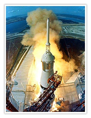 NASA Apollo 11 Poster Historic Launch Photograph Print 18x24 Inches Unframed Apollo 18 Poster
