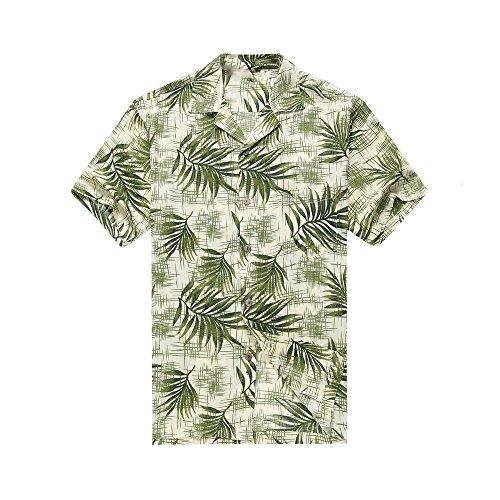 Leaves Mens Aloha Shirt - 6
