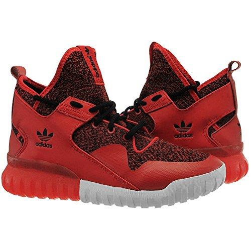 adidas Men's Tubular X Running Shoes Red J9pFhYT
