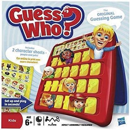 GUESS WHO 058011270 Juego: Amazon.es: Juguetes y juegos