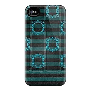 BWLxdkp8711ILvvJ Newstyle Shelf Green Fashion Tpu 4/4s Case Cover For Iphone