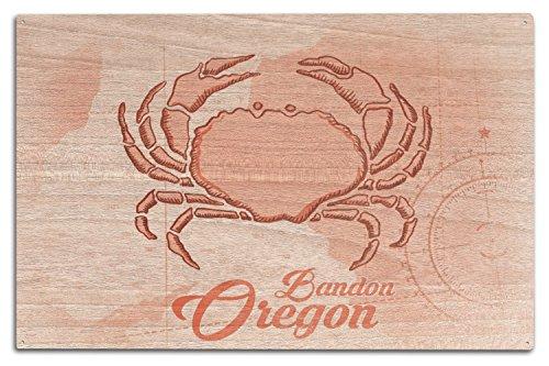 nbsp;nbsp;coastal Bois Bandon Sign nbsp;nbsp;corail Icon Wood Multicolore Dense X 15 nbsp;nbsp;crabe Oregon 10 txHq1wHOR