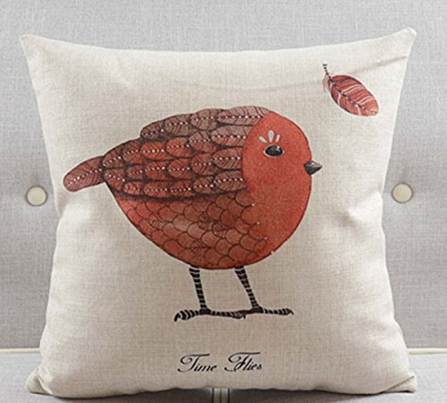Cotton Linen Pillow Cushion Decorative