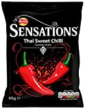 Walkers Sensations Thai Sweet Chilli Crisps 40 g (Pack of 32)