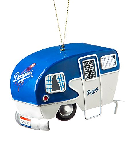 Evergreen Enterprises, Inc. Los Angeles Dodgers Team Camper Ornament