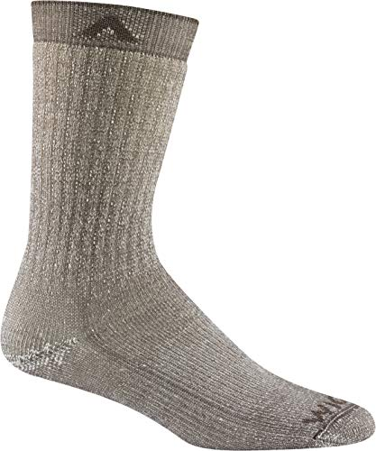 Wigwam Merino Comfort Hiker F2322 Sock, Taupe - Medium ()