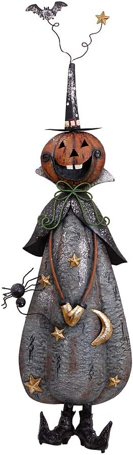 Outdoor Metal Halloween Yard Stake Signs Haunted House Decor Halloween Lawn Yard Garden Decorations for Home School Office Party Favors Halloween Party Supplies Halloween Moon