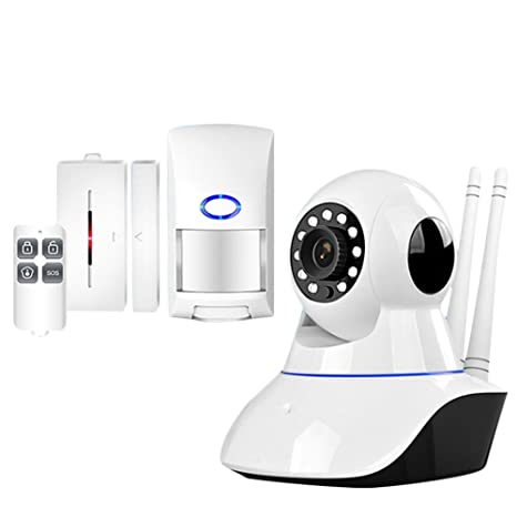 Molre-yan Cámaras de vigilancia Sistemas de Alarma Seguridad WiFi Cámara IP Sistema de Seguridad