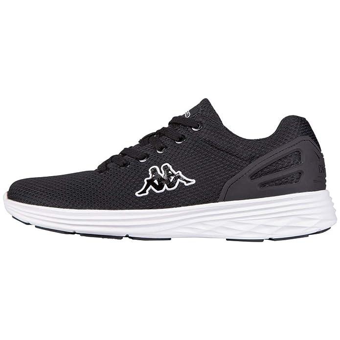 Kappa Trust Sneakers Damen Herren Unisex Schwarz/Weiß