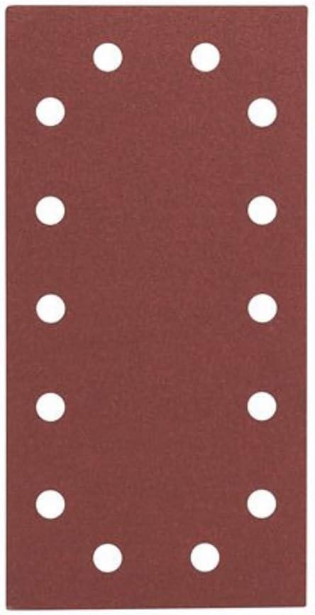 Bosch 2608607934 115 x 230 mm, 100 Set de 50 papeles de lija