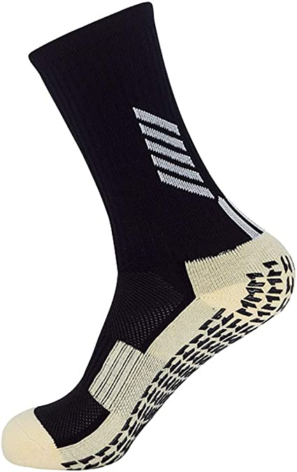 Nouveau Homme Femme Football Chaussettes Football Hockey Rugby Sports Plain Long Chaussettes