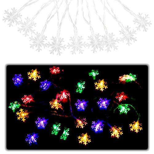 Multi Coloured Led Outdoor Christmas Lights in US - 9