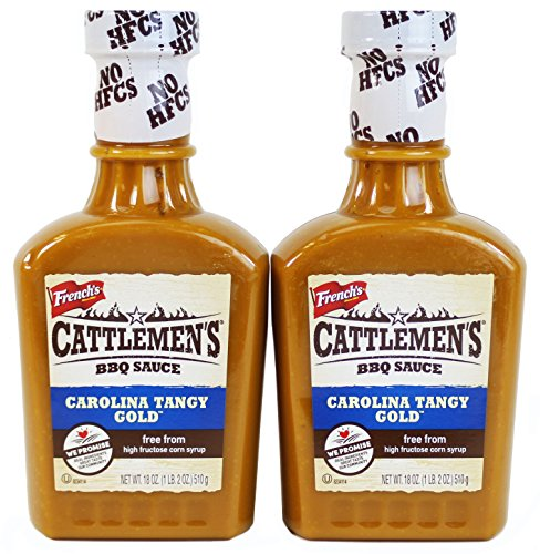 Cattlemen's Carolina Tangy Gold BBQ Sauce, 18 Oz (Pack of 2)