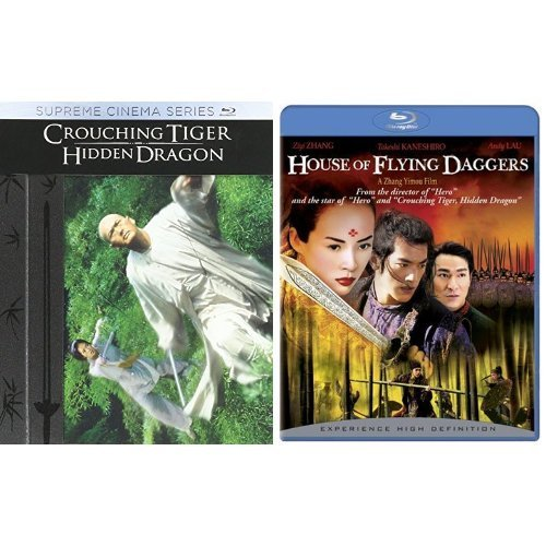 Crouching Tiger + Hidden Dragon Limited Edition + House of Flying Daggers