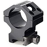 Barrett Fits Picatinny Fits 30MM Scopes Ring, 1.3'', Black