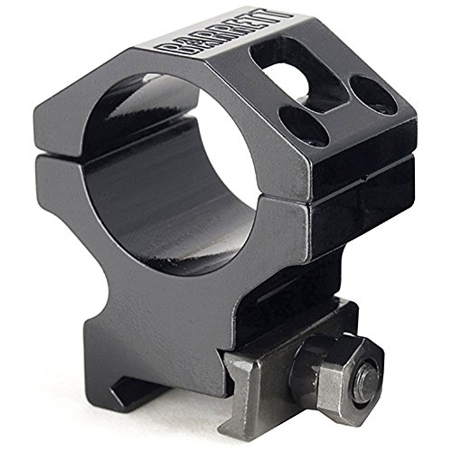 Barrett Fits Picatinny Fits 30MM Scopes Ring, 1.3'', Black by Barrett