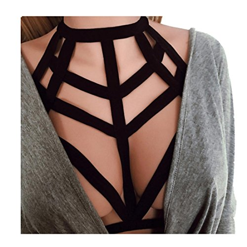 Harness Febecool Womens Strappy Elastic