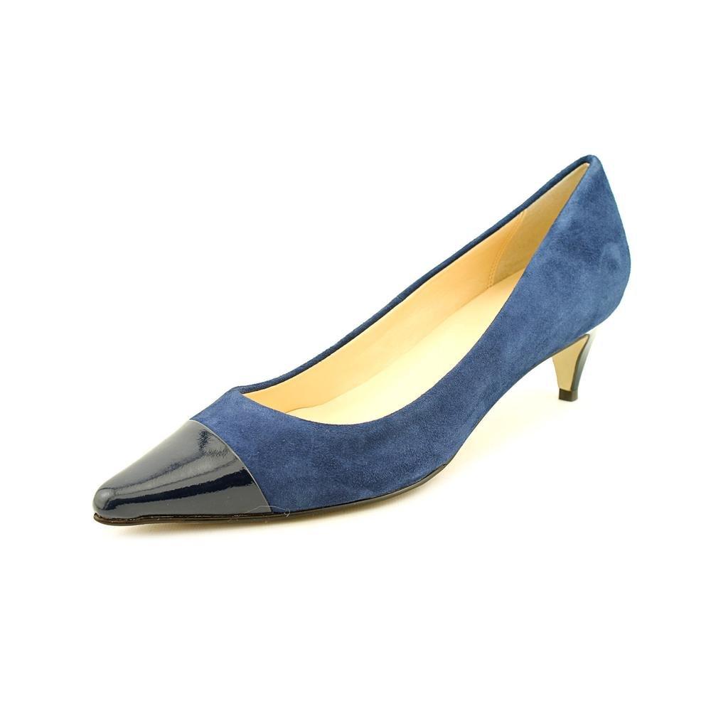 Cole Haan Juliana Lo Pump Blazer Blue Suede D40794 Women Size 8 B