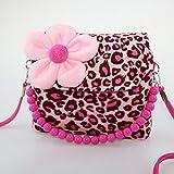 Dodocat Cute Little Girls Fashionable 3D Flower Handbag crossbody bag - Leopard Reviews