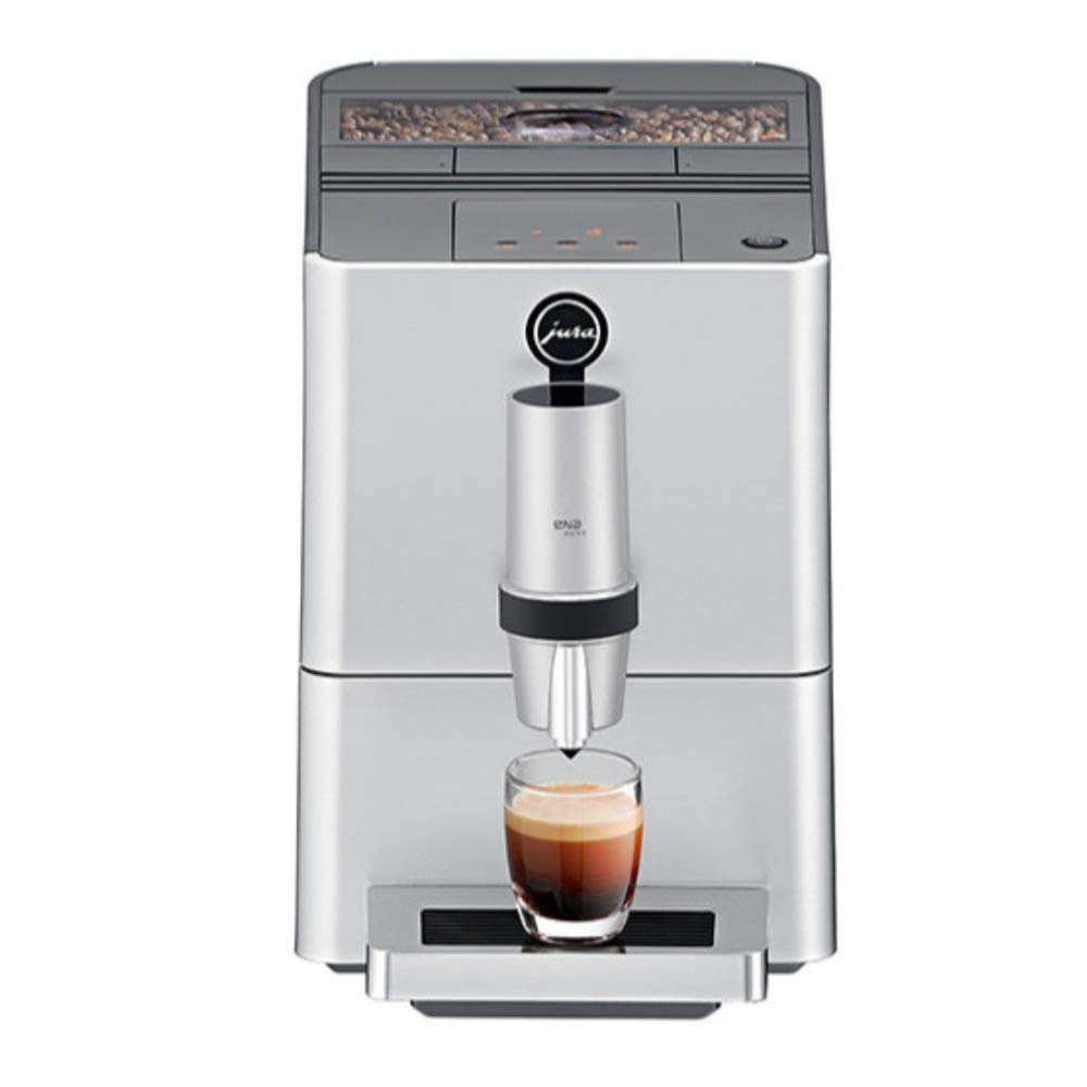 Jura ENA Micro 5 Automatic Coffee Machine, Silver (Renewed) by Jura (Image #1)