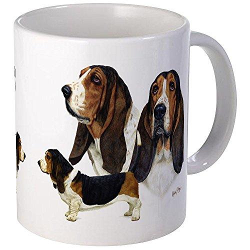 CafePress Basset Hound Mug Unique Coffee Mug, Coffee Cup