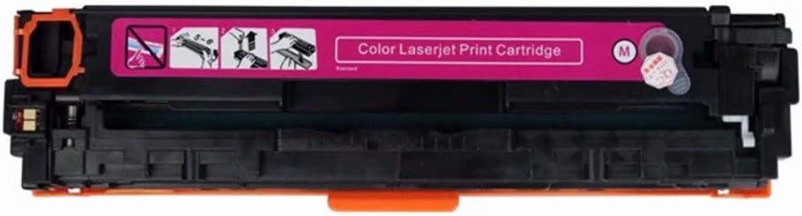 No-name Compatible Color Toner Cartridge 124a Q6000A Q6001A Q6002A Q6003A for HP Color Laserjet 1600 2600n 2605 2605dn 2605dtn CM1015 CM1017 Laser Printer 1 Magenta
