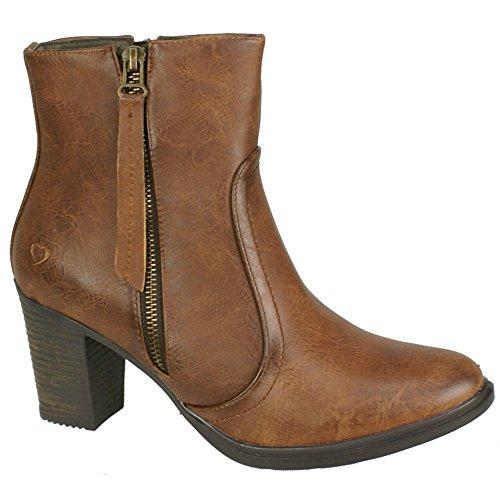 Heavenly Feet - Botas para mujer Marrón marron oscuro Marrón - marron oscuro